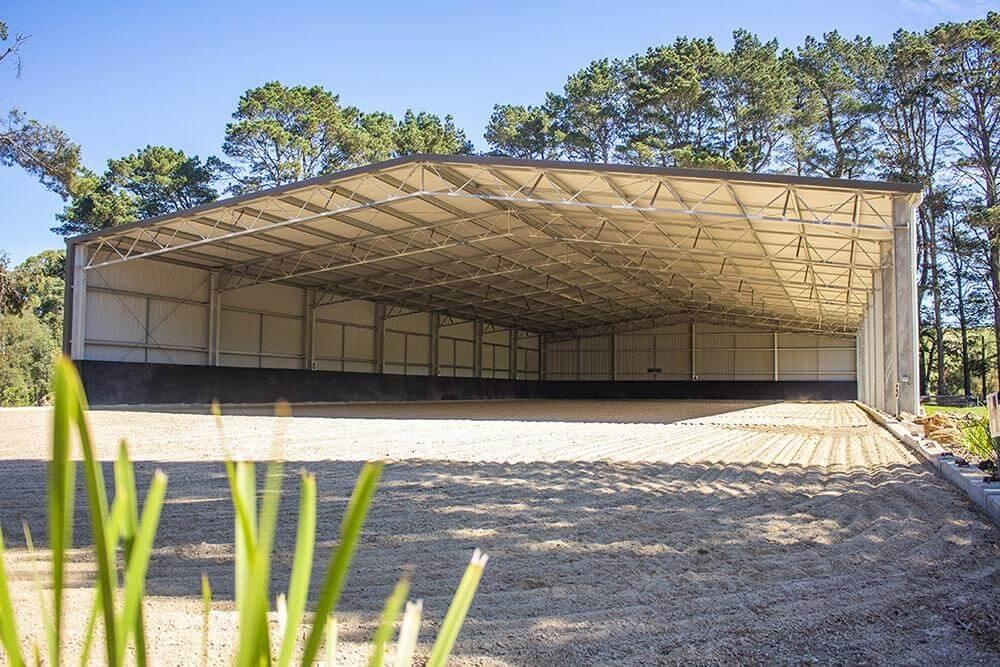 Dressage arena