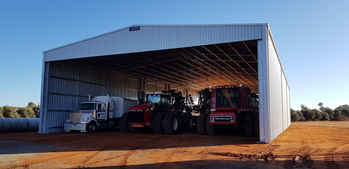Machinery storage shed - Beckom