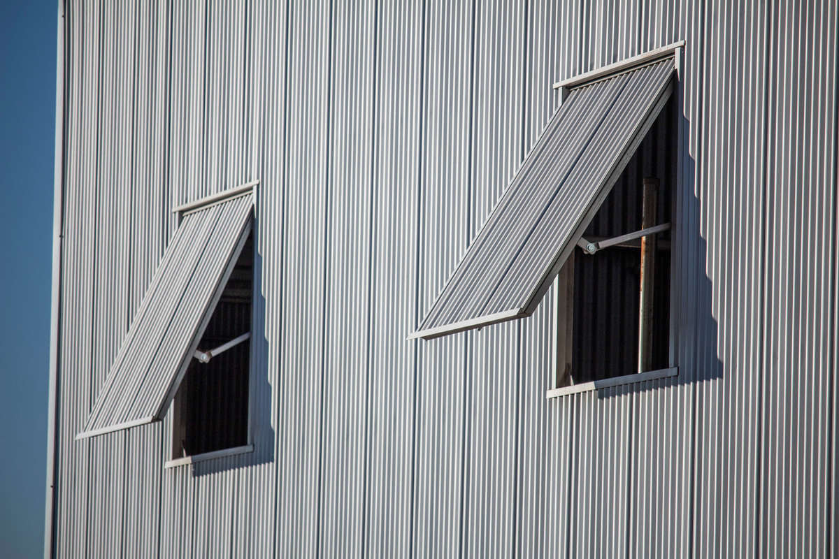 Side of shearing shed - Boorowa