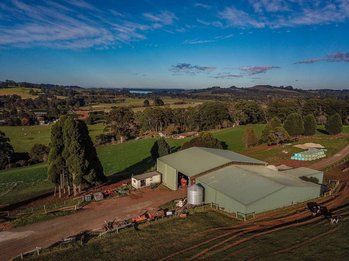 Top of farm shed - Burrawang