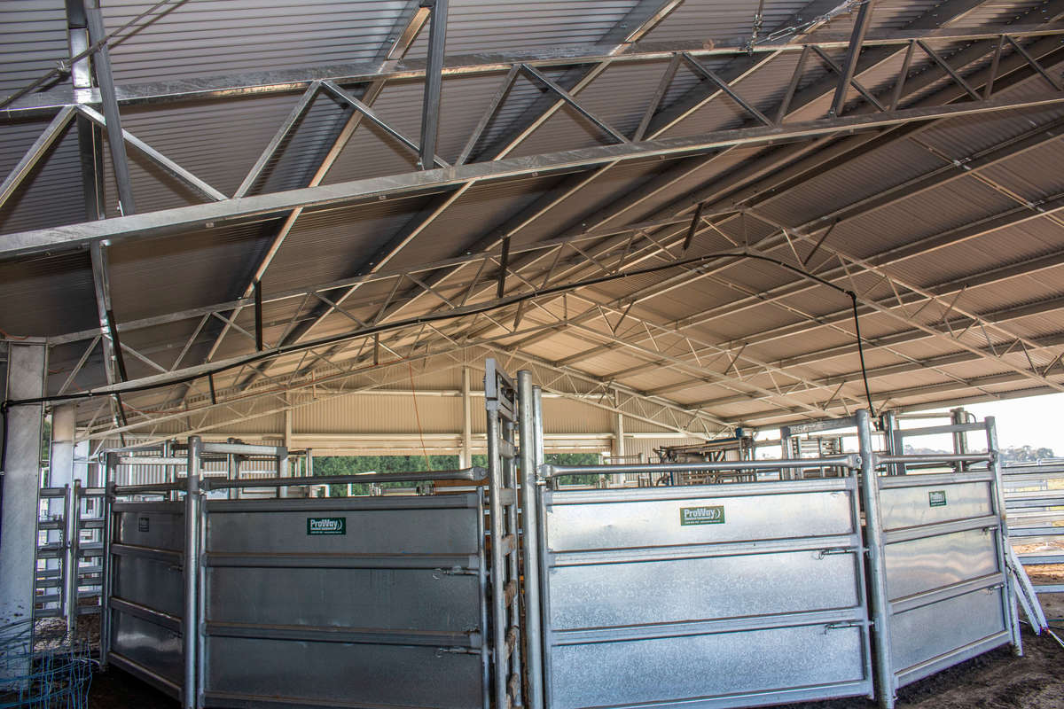 Inside yard cover - Crookwell