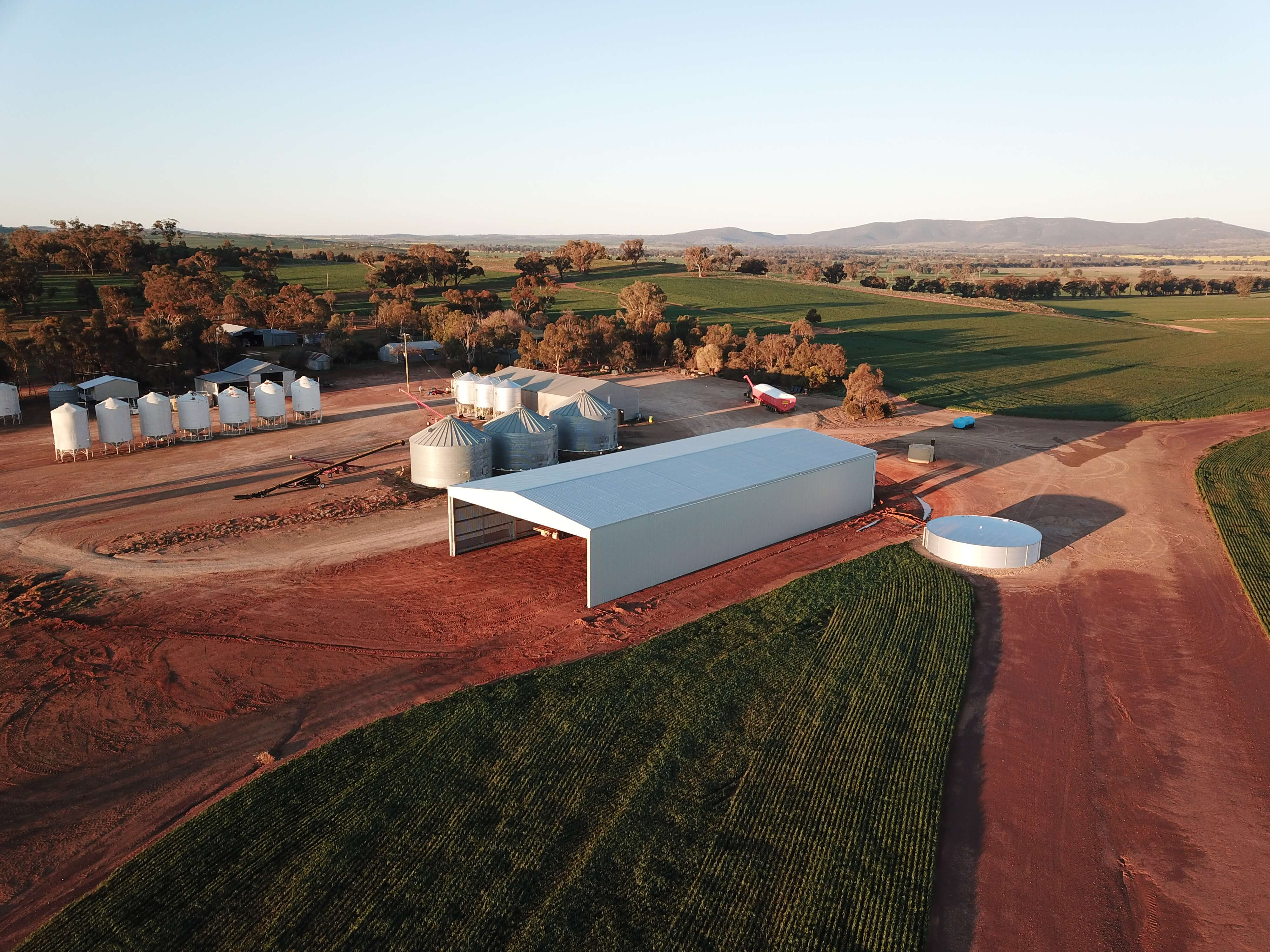 Farm shed in Illabo