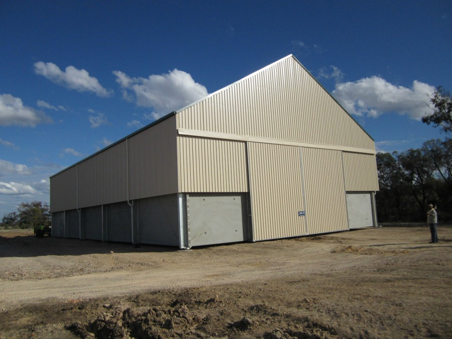 Grain shed in Boomi