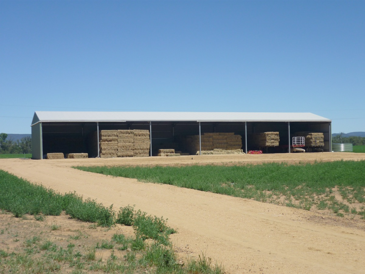 6 bay hay shed - Cowra West