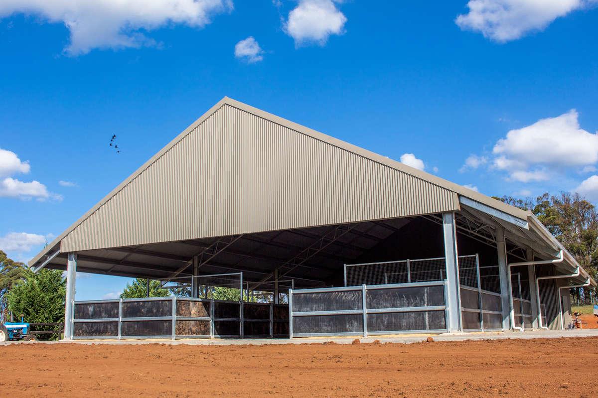 Horse stables - Brayton NSW