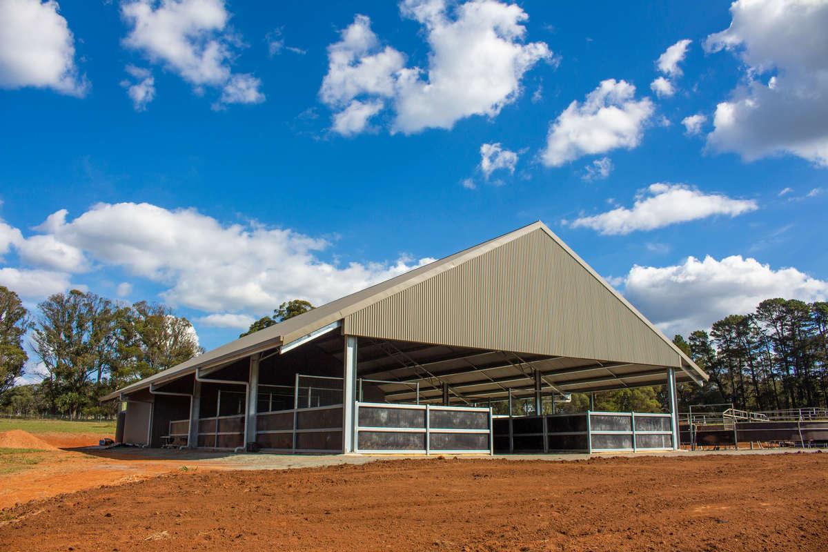 Horse stable complex - Brayton NSW