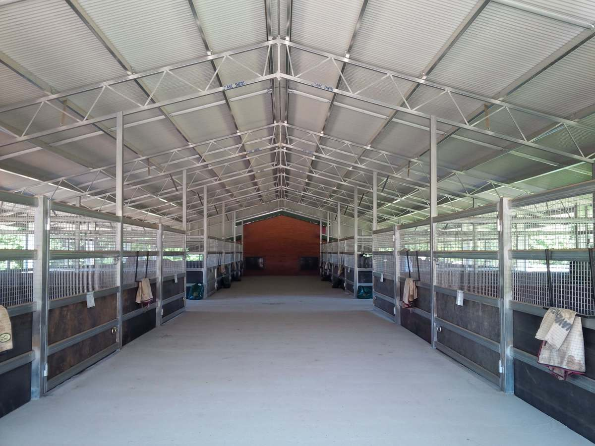 Horse stable - Boorowa - Inside View