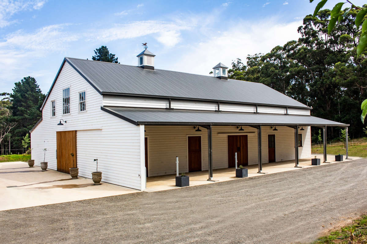 ABC Sheds horse stable project