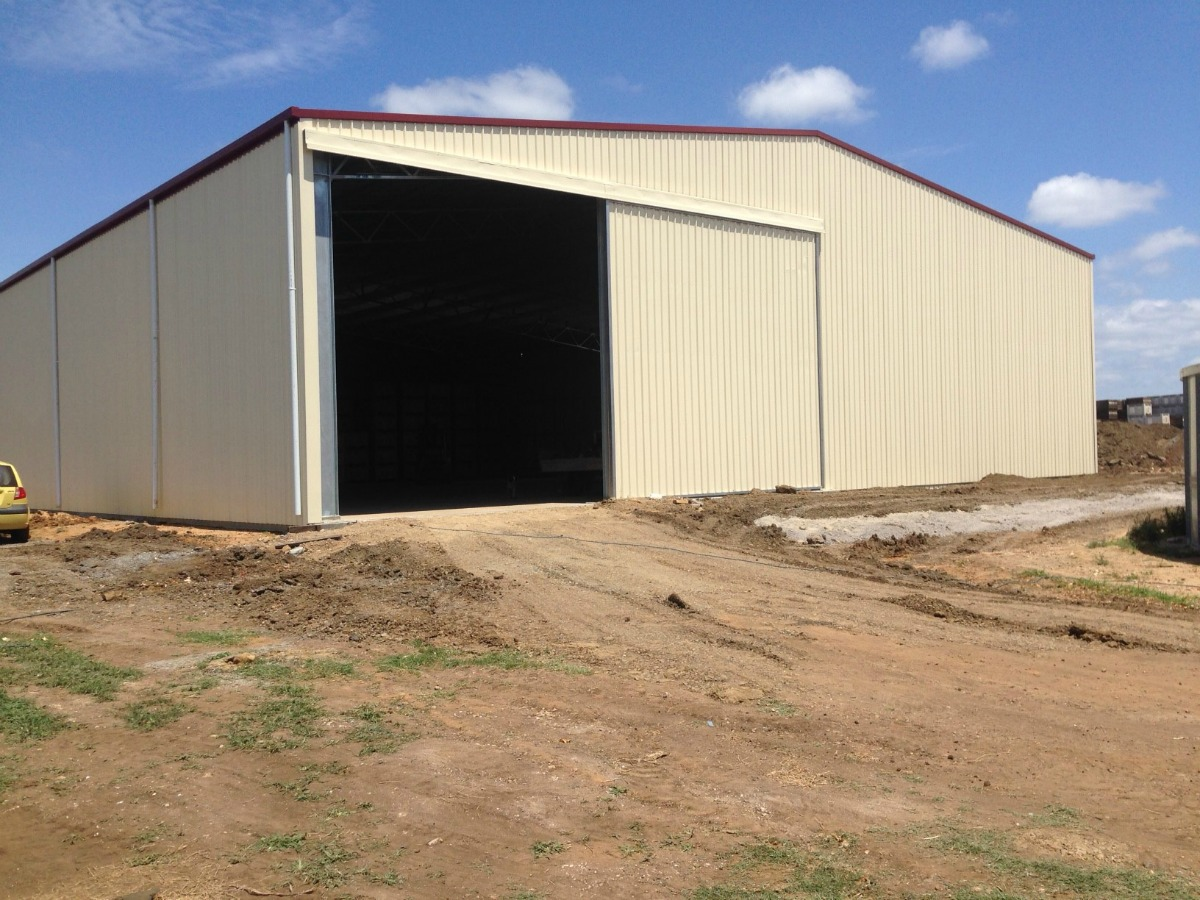 Commercial shed - Gatton - Slanted view
