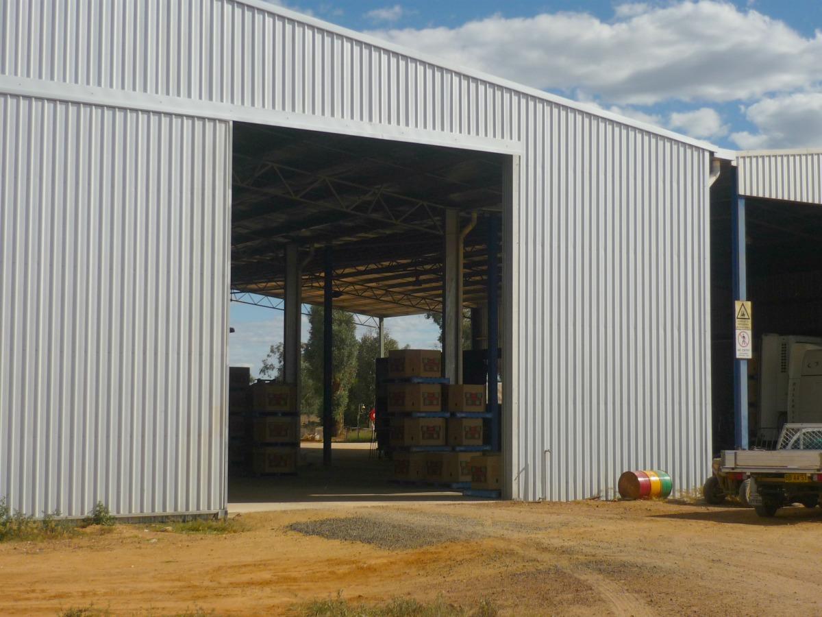 Commercial sheds - West Billimari - Inside view