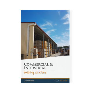 ABC Sheds commercial and industrial buildings brochure