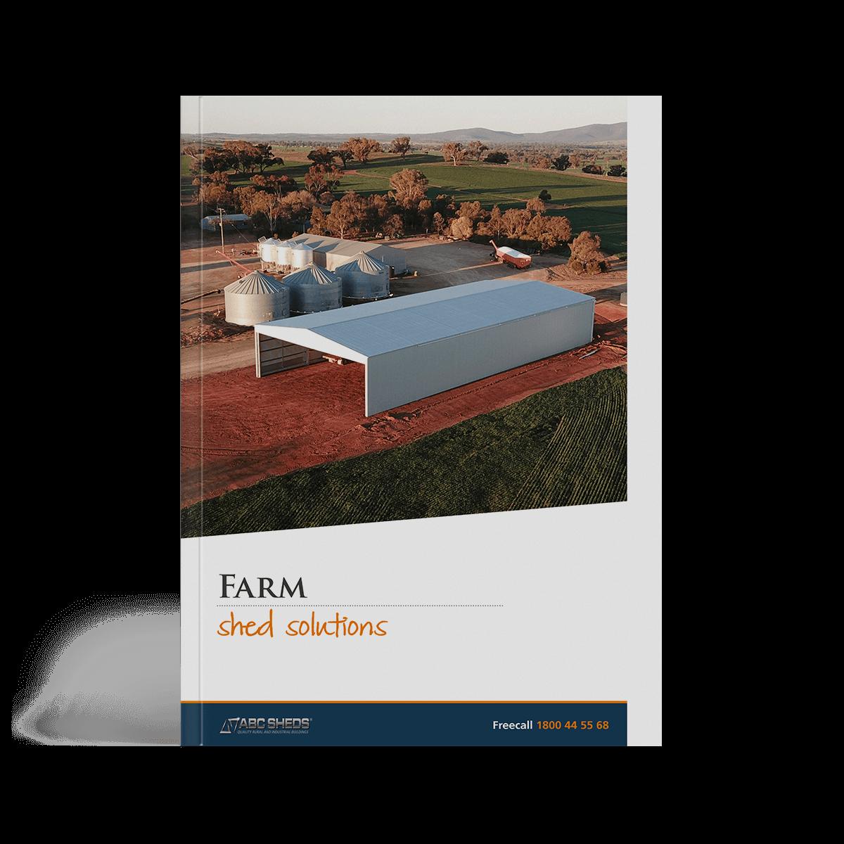 ABC Sheds farm sheds brochure